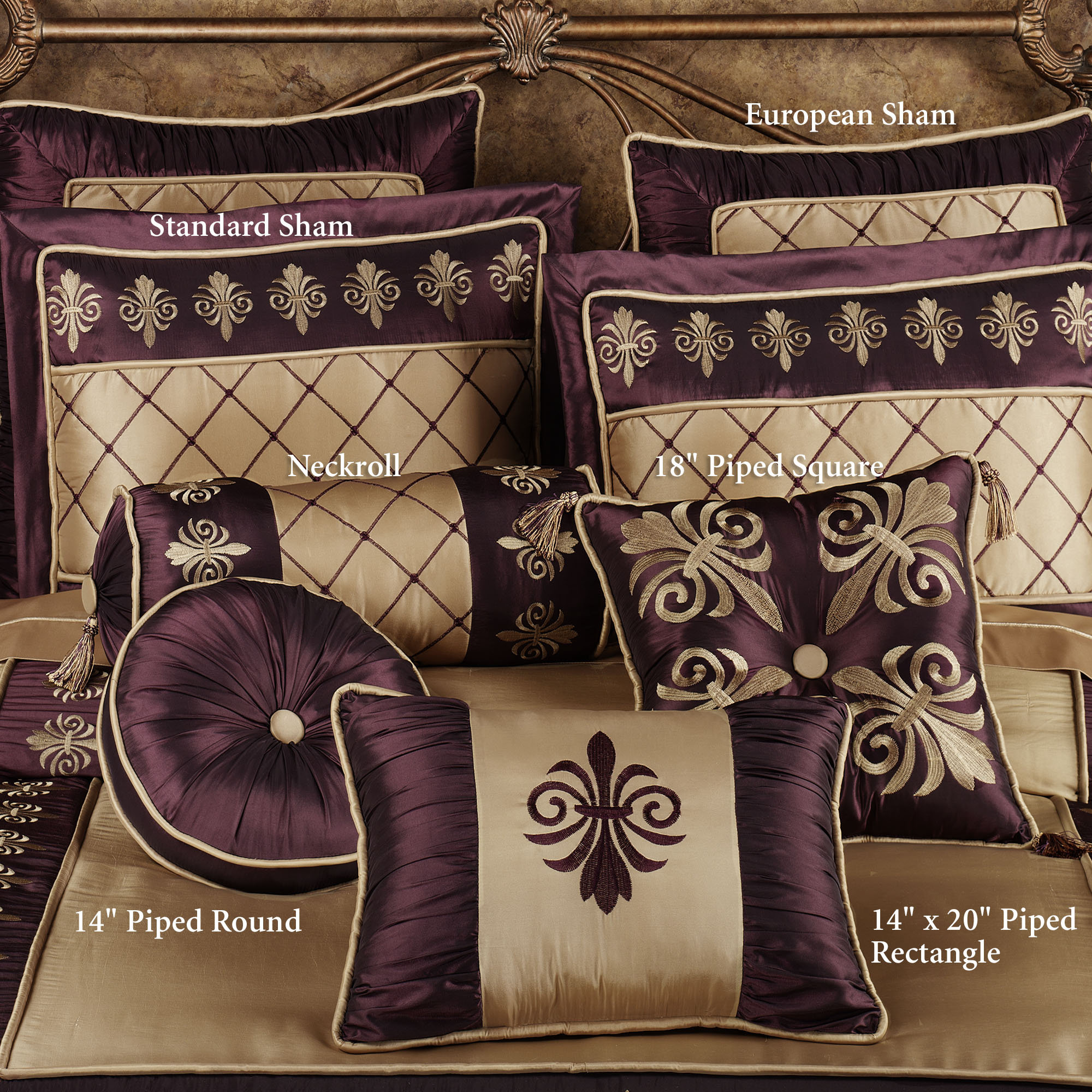 Purple Flower Comforter Set | Purple Bedroom Comforter Sets | Purple Comforter Sets