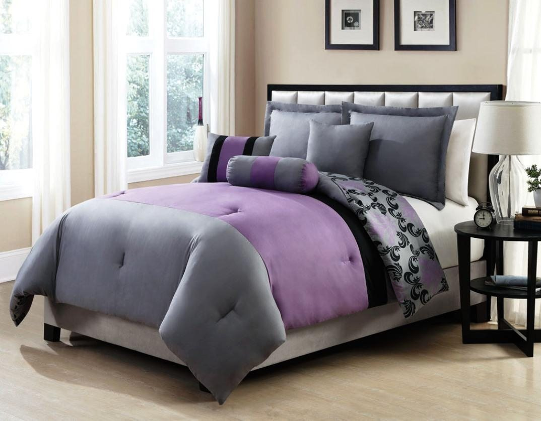 Purple Full Size Comforter Sets | Purple Comforter Set Queen | Purple Comforter Sets
