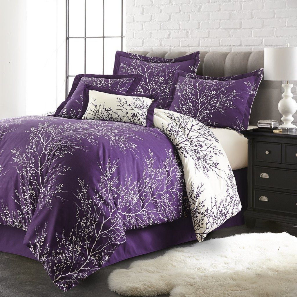 Purple King Comforter Sets | Purple Comforter Sets | Purple Comforter Sets Full Size