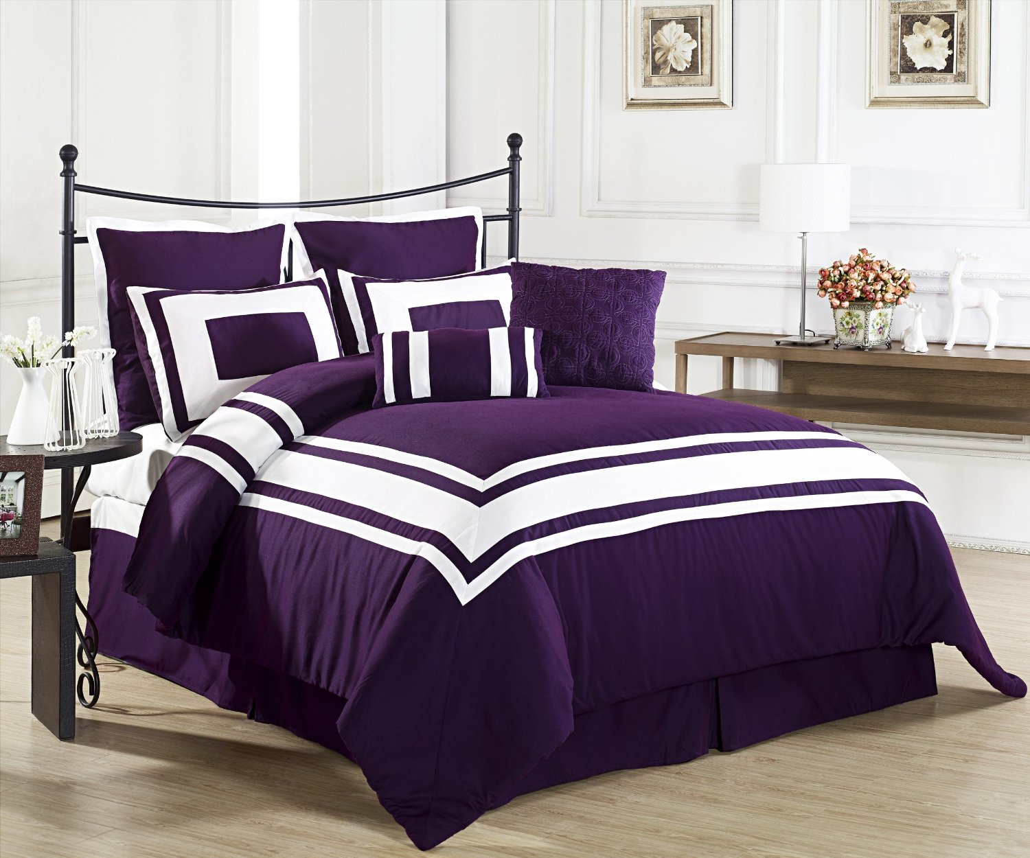 Purple King Comforter Sets | Purple Comforter Sets | Purple Twin Comforter Set
