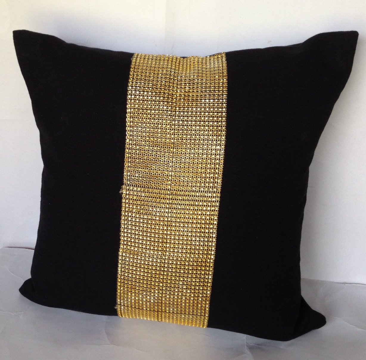 Purple Lumbar Pillow | Gold Throw Pillows | Decorative Pillow Covers 18x18