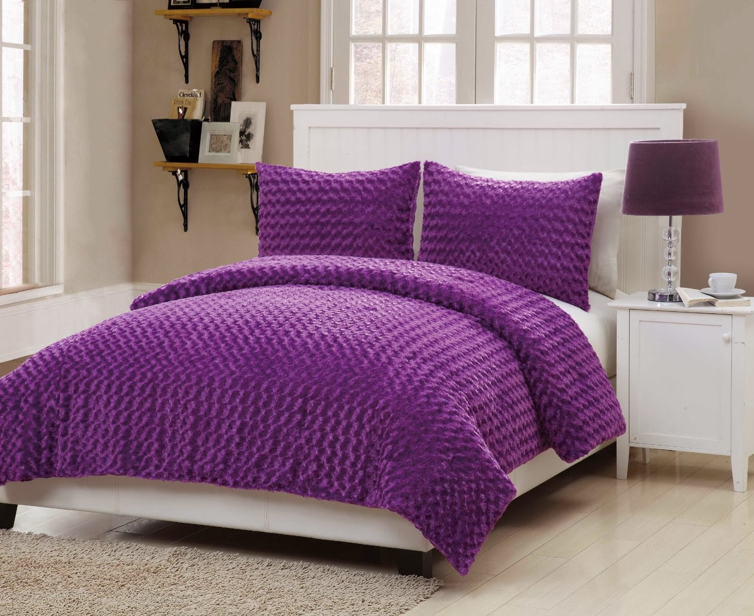 Purple Twin Comforter Sets | Purple Comforter Sets | Purple and Gold Comforter Set