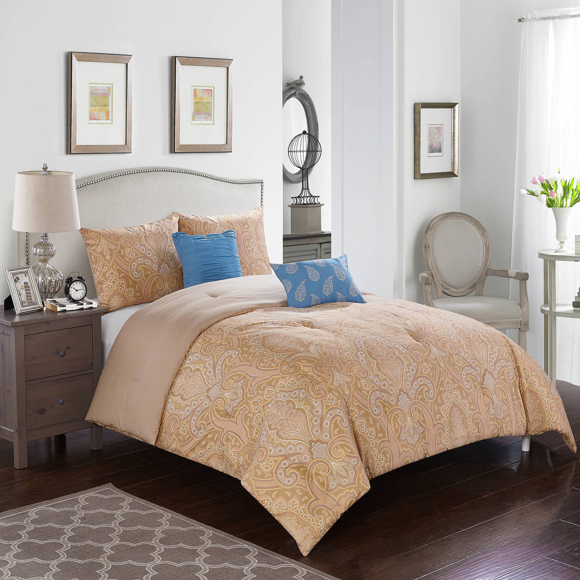 pc queen sets design by gray bed set warm signature ashley zelen bedroom