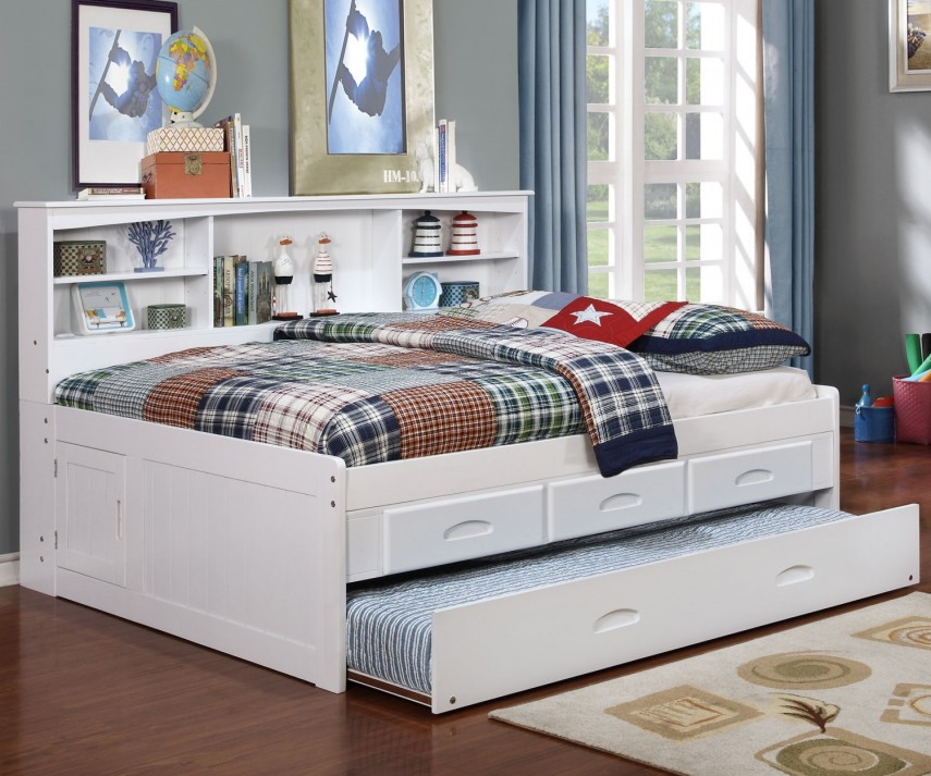 Queen Daybed Frame | Pottery Barn Teen Daybed | Full Size Daybed With Trundle