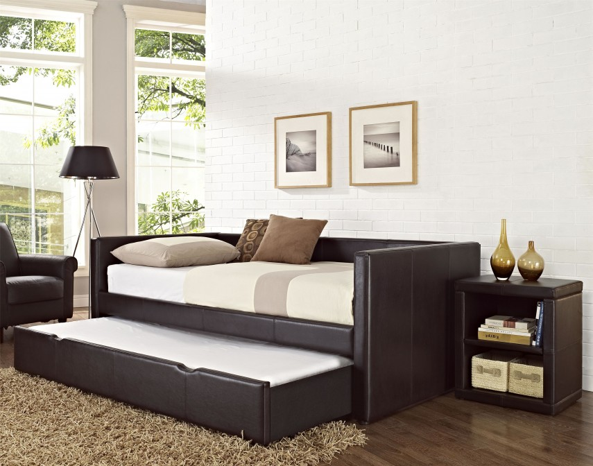 Queen Daybed | Wood Daybed | Full Size Daybed With Trundle