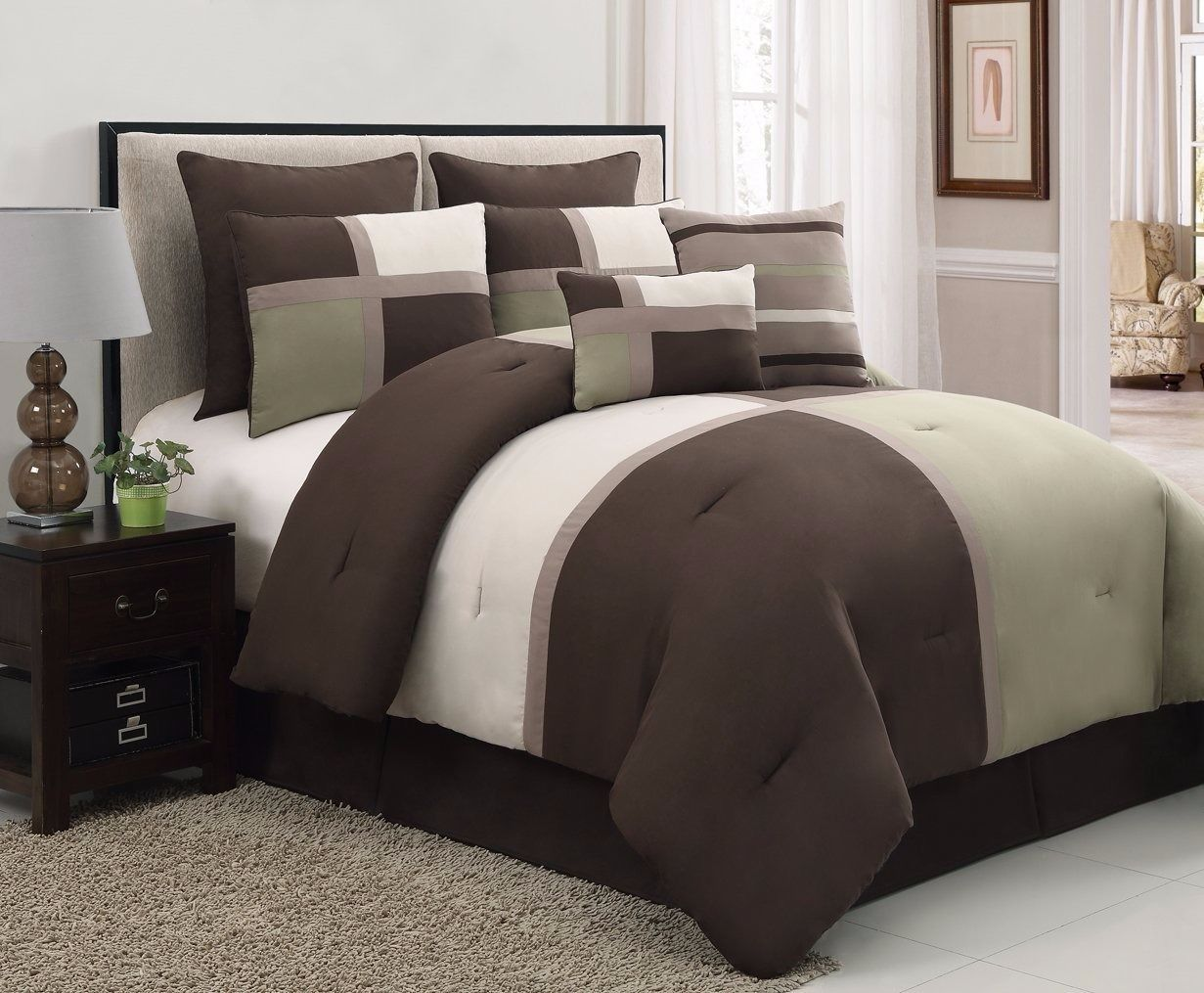 Queen Size Bed In A Bag Sets | Twin Comforters | Queen Bedding Sets