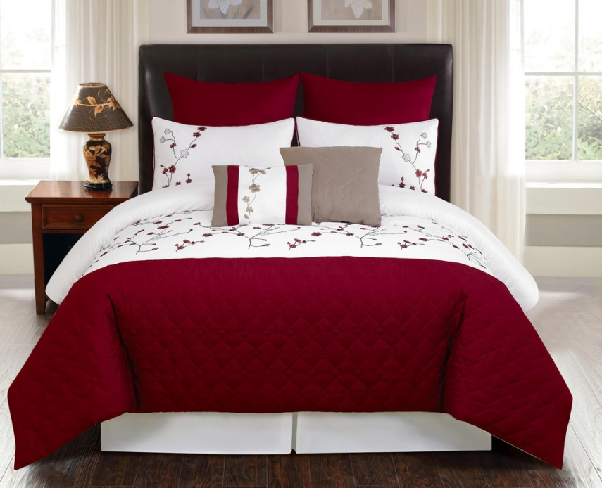 Queen Size Bedding Sets | Grey Comforter Sets | Queen Size Cheetah Print Bed Set