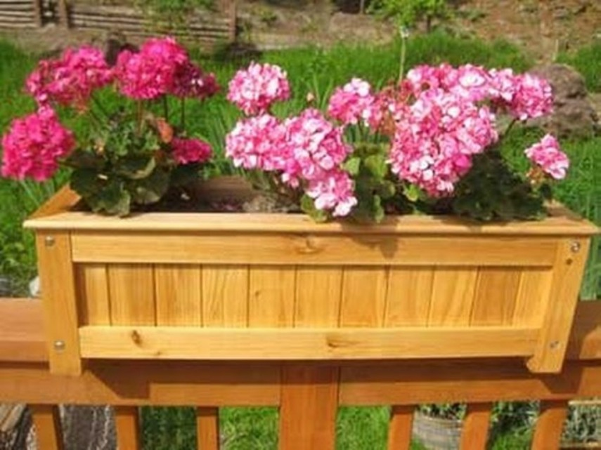 Railing Planter Box | Deck Planter Boxes | Deck Rail Planters