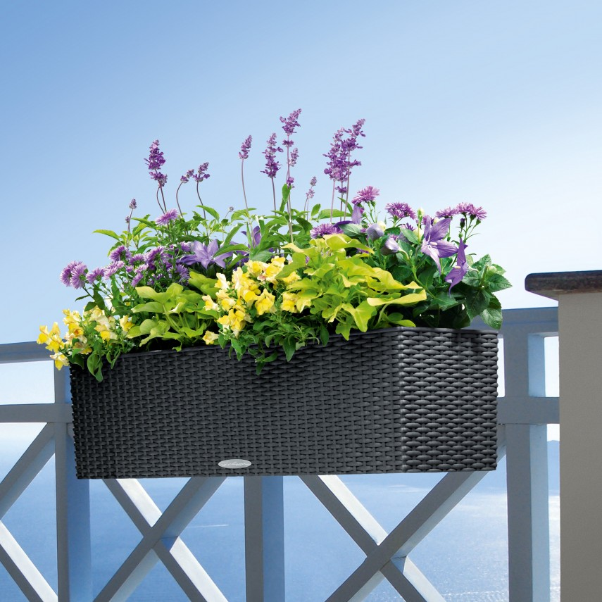 Railing Planter | Deck Rail Planters | Diy Railing Planter