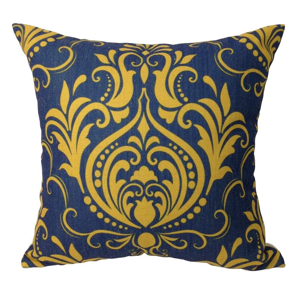 Ralph Lauren Throw Pillows | Gold Throw Pillows | 24x24 Pillow Cover