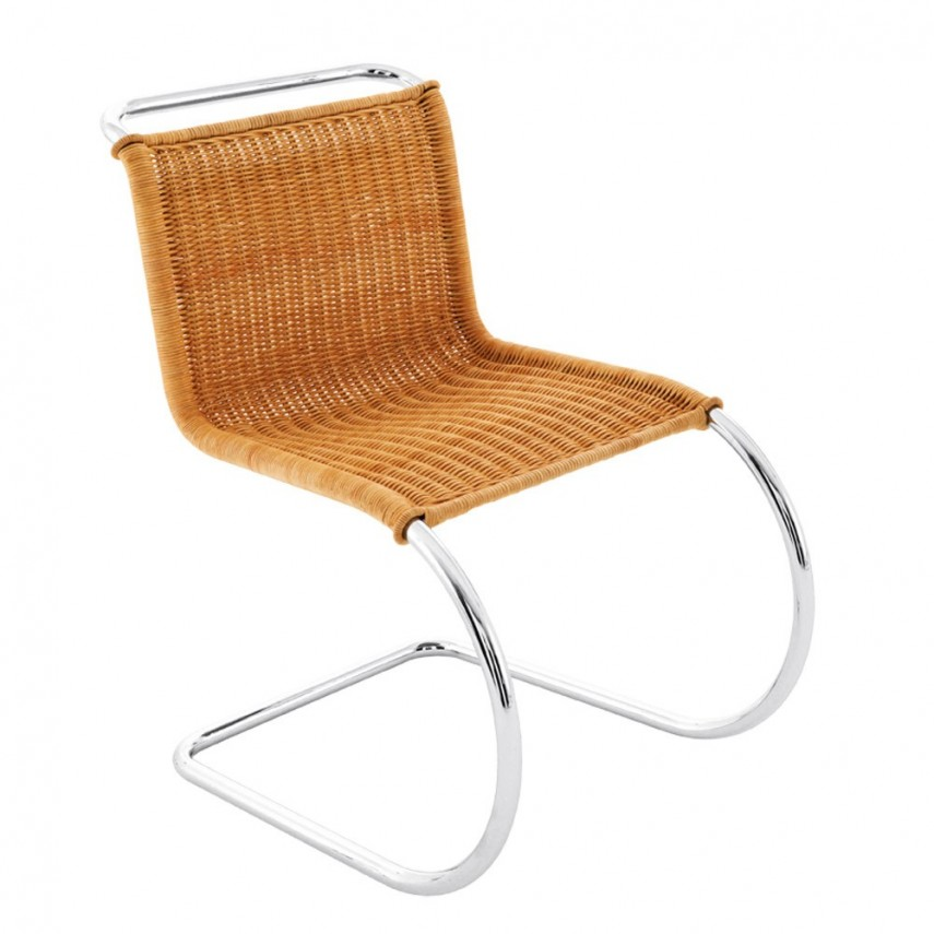 Rattan Bistro Chair | Outdoor Wicker Chair With Ottoman | Rattan Chair