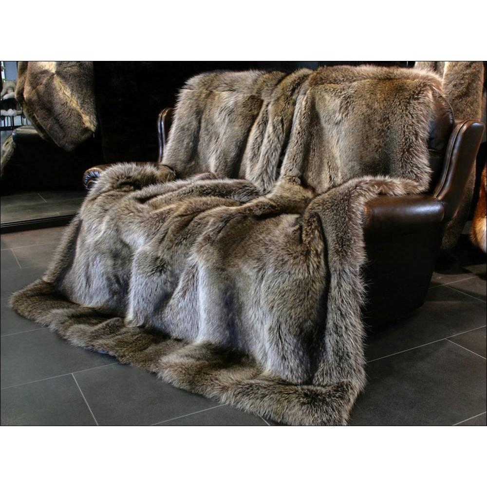 Real Fur Rugs | Gray Faux Fur Rug | Fur Rug