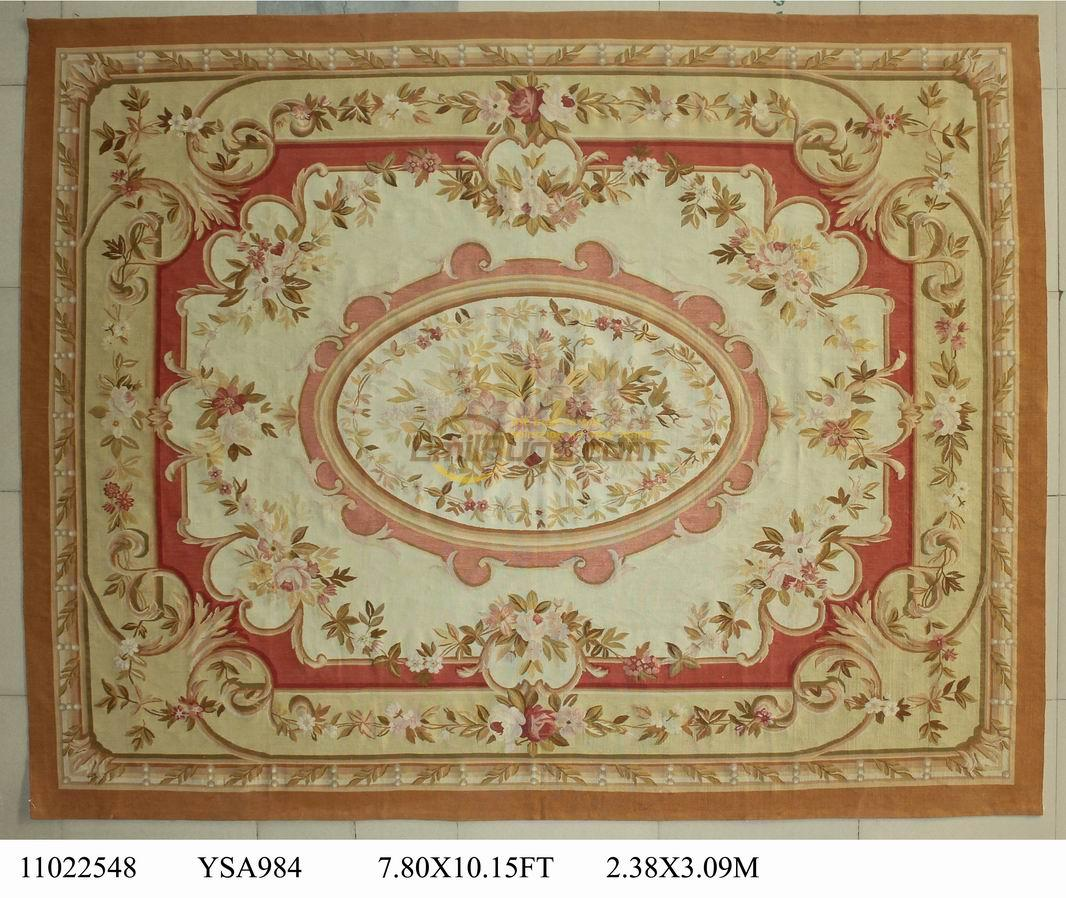 Redoubtable Aubusson Rugs | Cute Aubusson Area Rugs