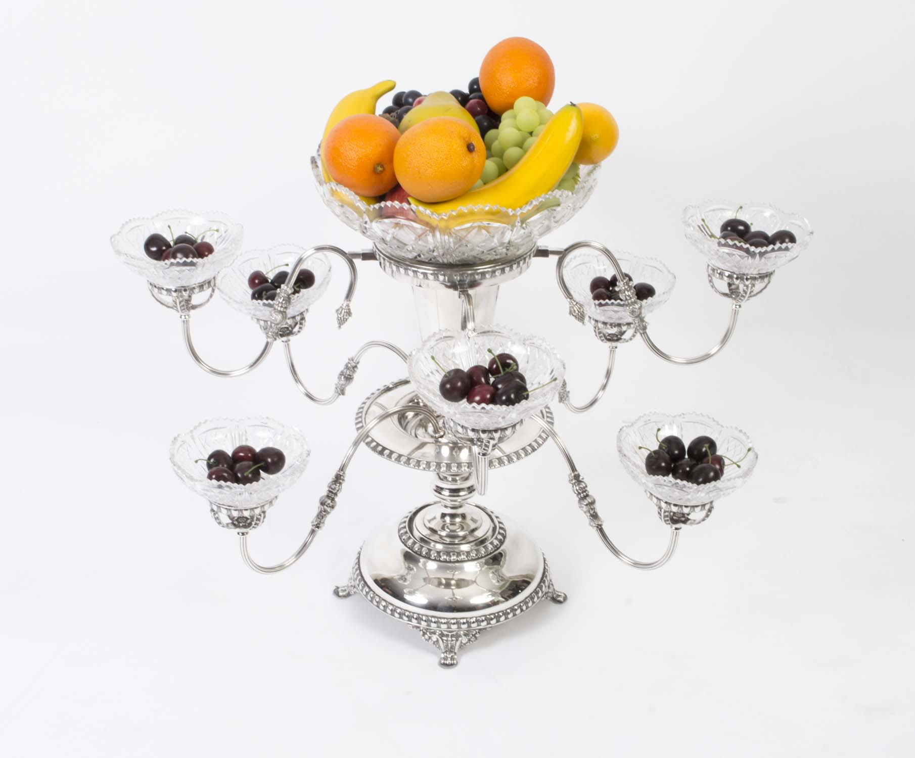 Remarkable Epergne | Fresh Cranberry Epergne
