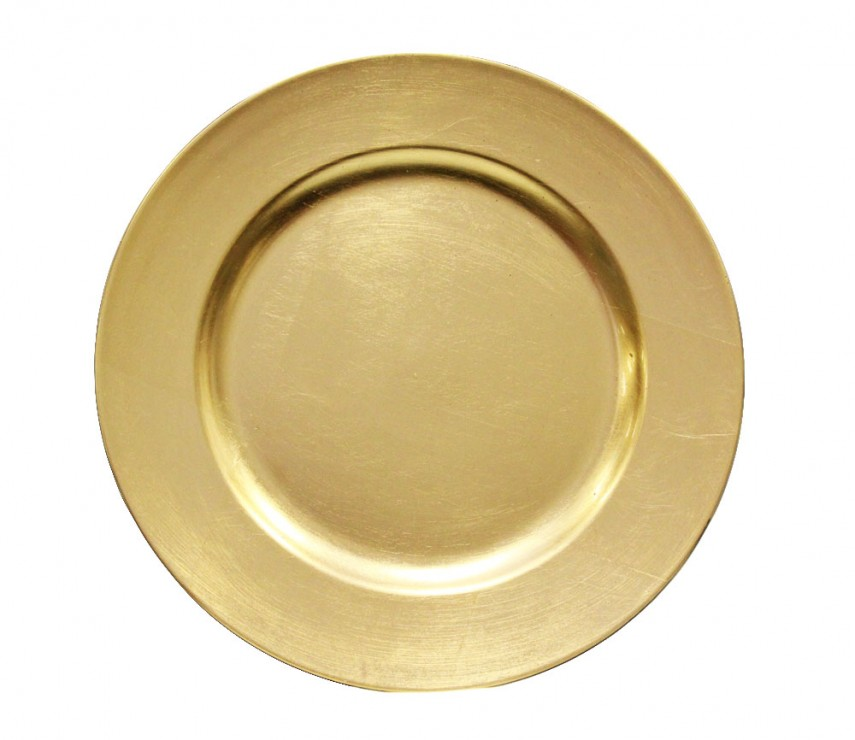 Rent Charger Plates | Plastic Charger Plates $1 | Plate Chargers