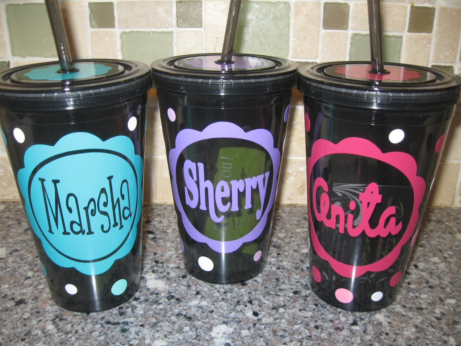 Reusable Party Cups | Personalized Plastic Cups | Hard Plastic Solo Cups