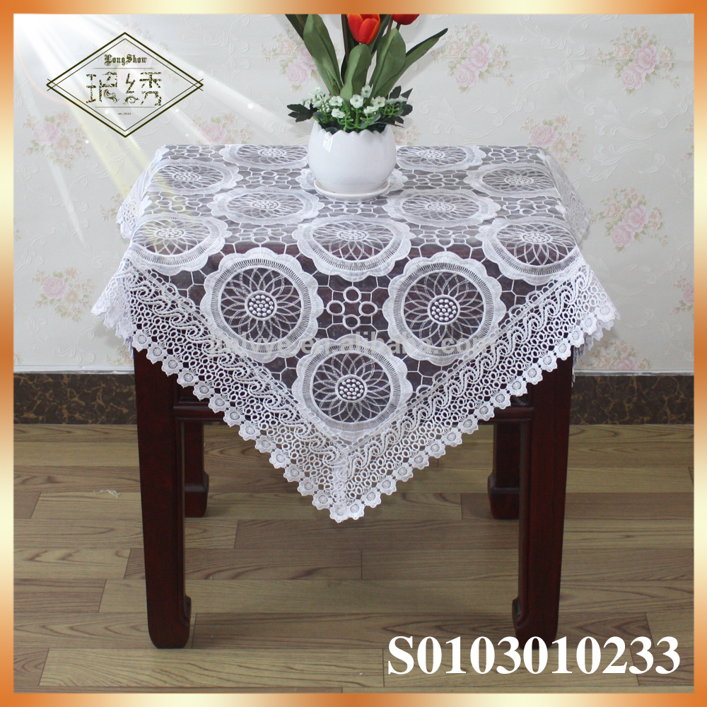 Round Lace Tablecloth | Lace Tablecloth Overlays | Lace Tablecloths