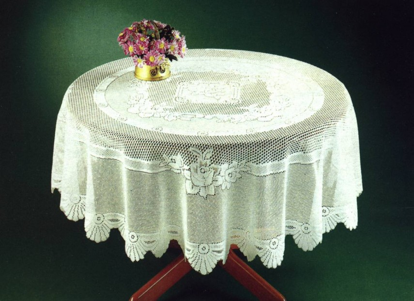Round Lace Tablecloths Wholesale | Lace Square Tablecloth | Lace Tablecloths