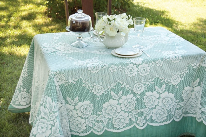 Round Plastic Lace Tablecloths | Jcpenney Tablecloths | Lace Tablecloths