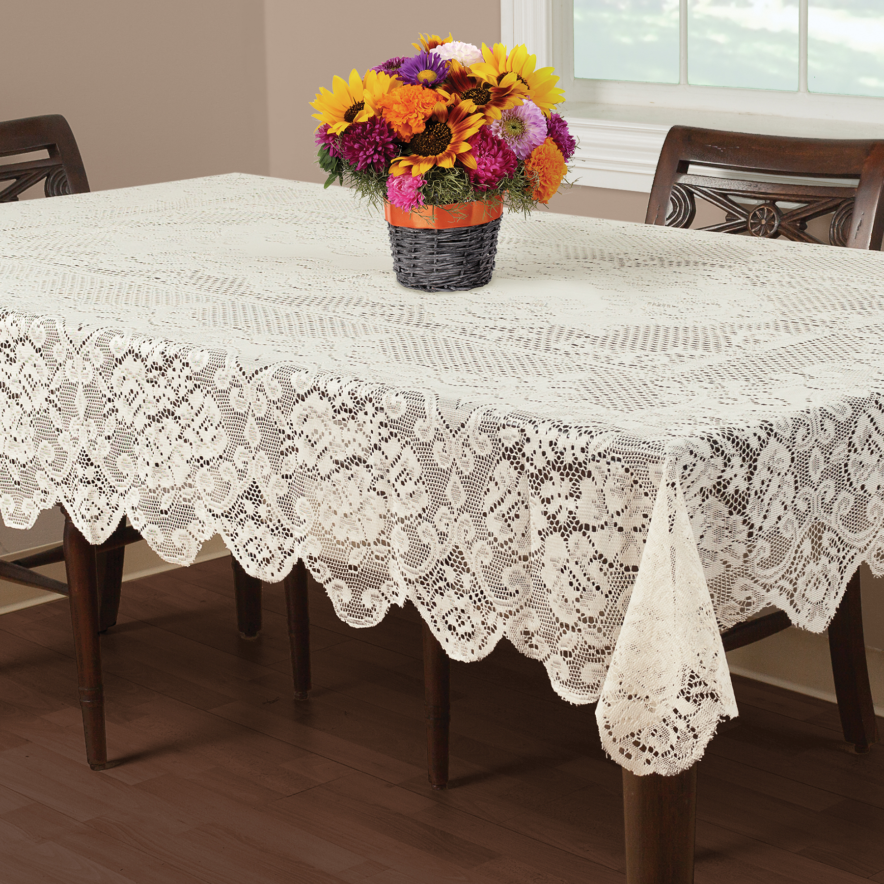 Round Vinyl Tablecloths | Lace Tablecloths | Where to Buy Tablecloths