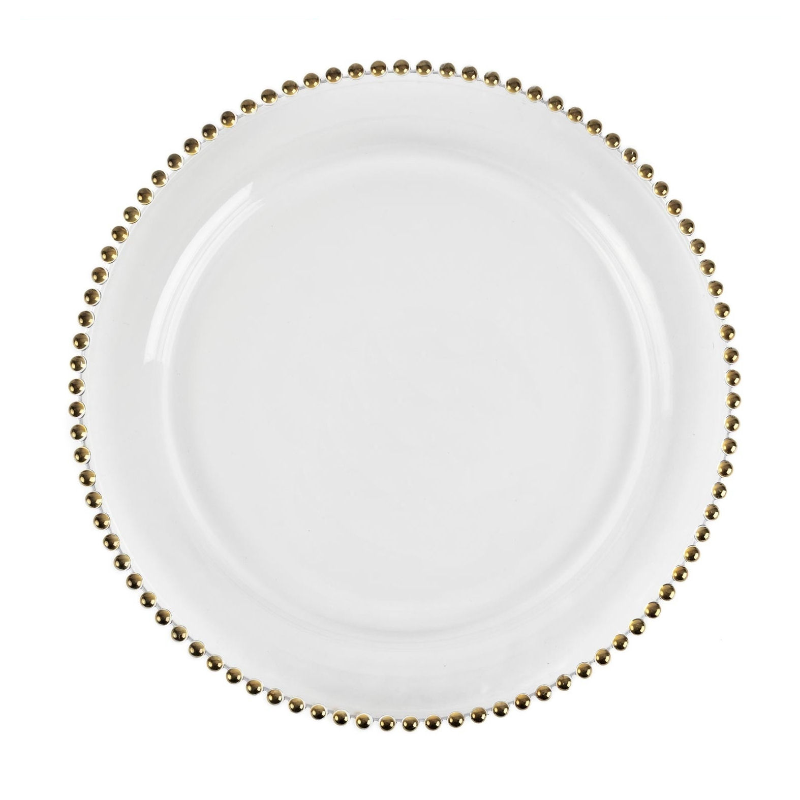 Clear Glass Dinner Plates Wholesale