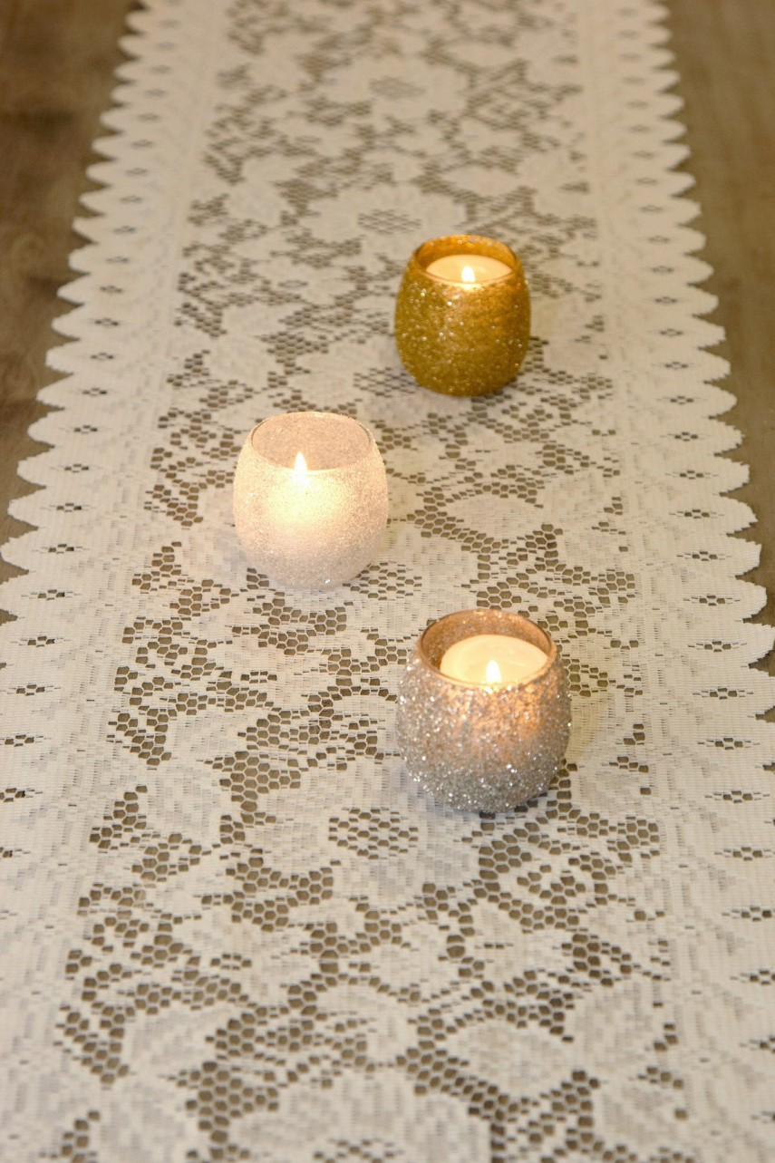 Rustic Table Runner | Table Runners For Weddings | Lace Table Runners
