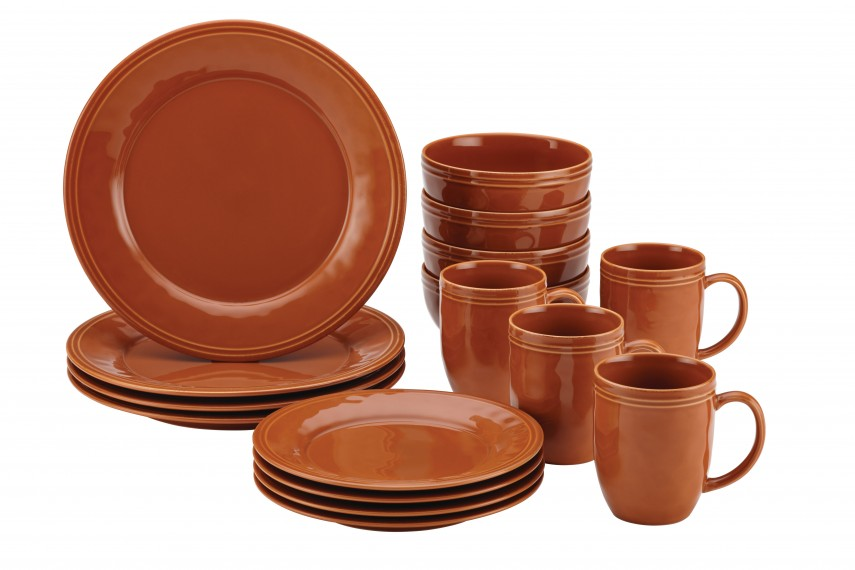 Sango 40 Piece Nova Brown Stoneware Dinnerware Set | Target Dinnerware | Stoneware Dinnerware Sets