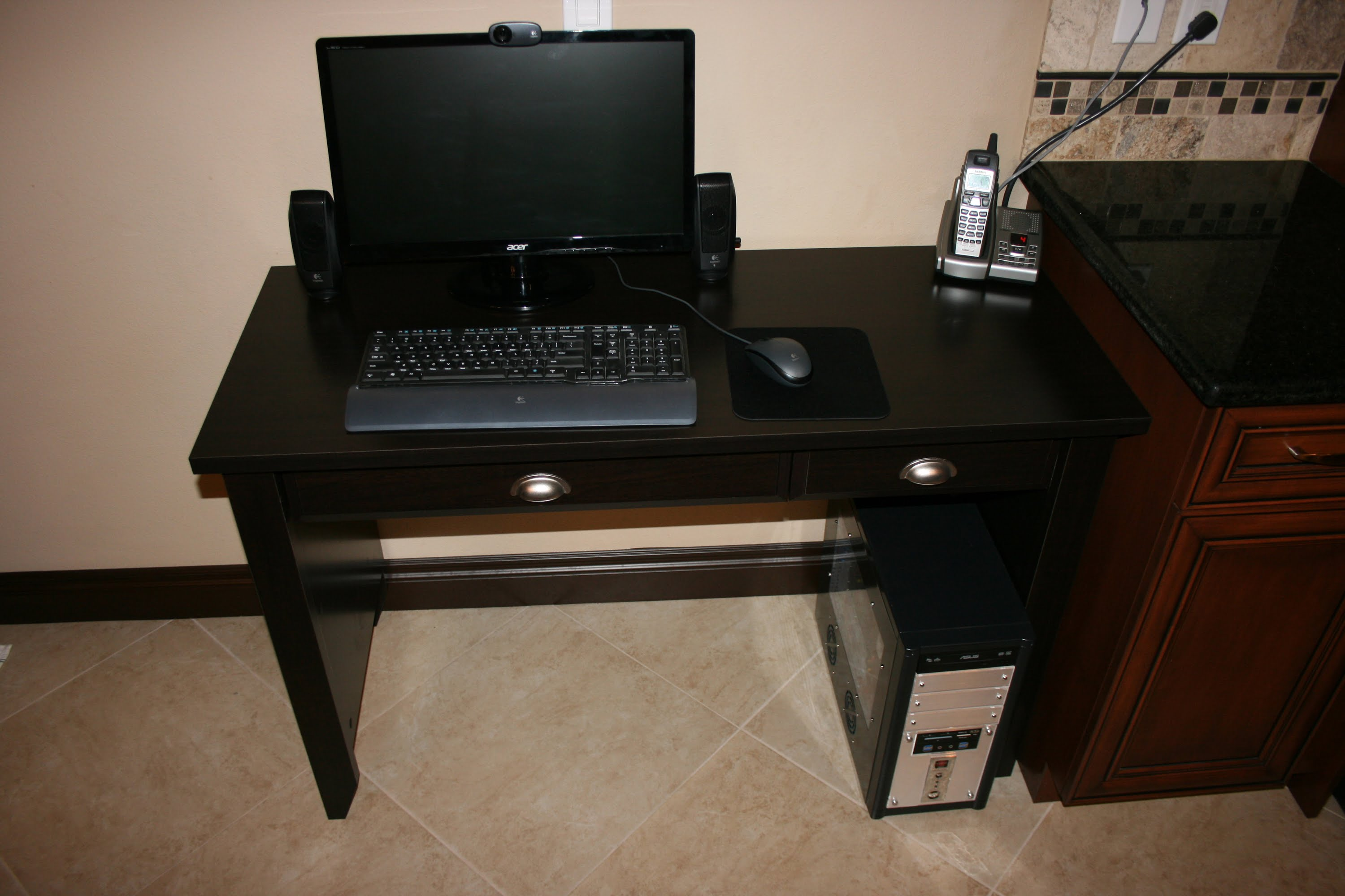 Sauder Computer Desks | Desks Amazon | Computer Desk with Hutch and Drawers