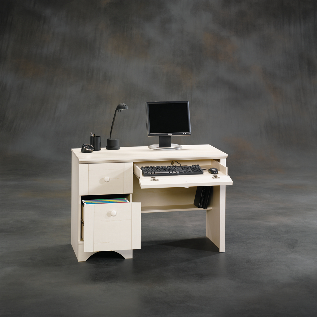 Sauder Computer Desks | Sauder L Shaped Desk | Desk with Filing Cabinet