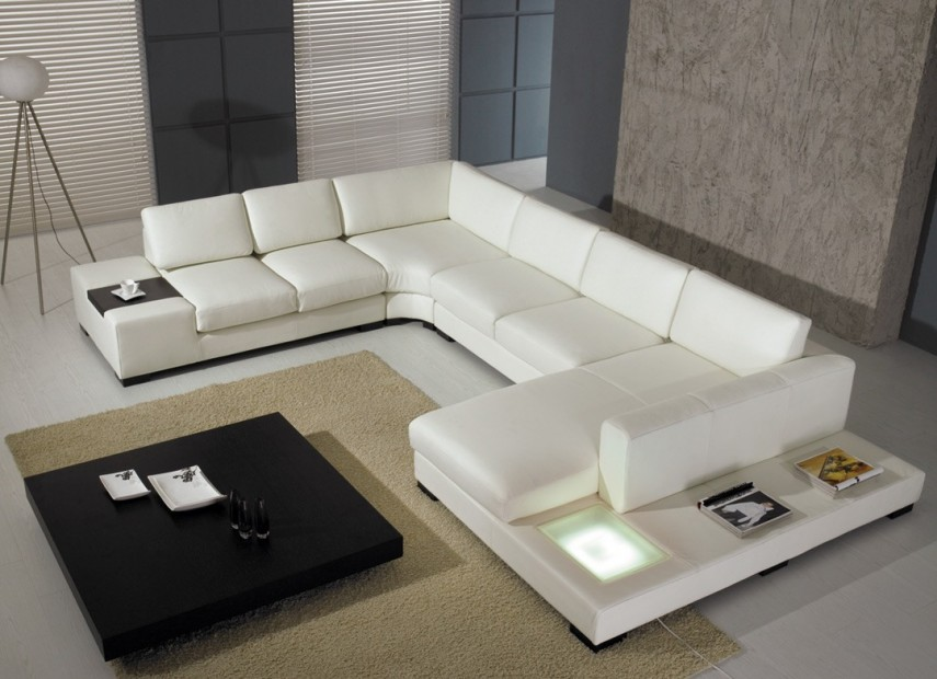 Sectional Leather Sofas | Large Sectional Sofas | Modular Sectional