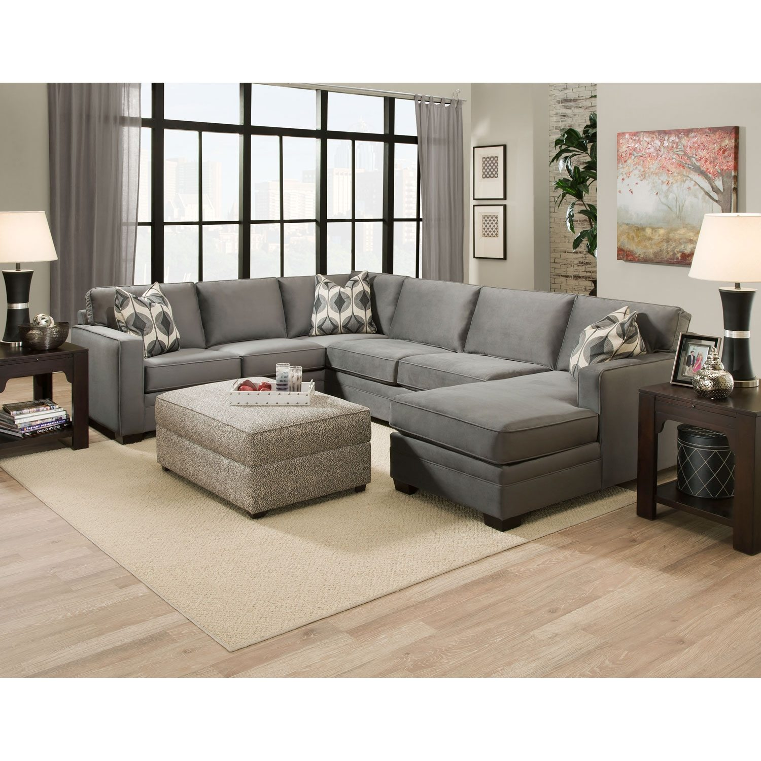 Furniture Large Sectional Sofas Large Deep Sectional Sofas