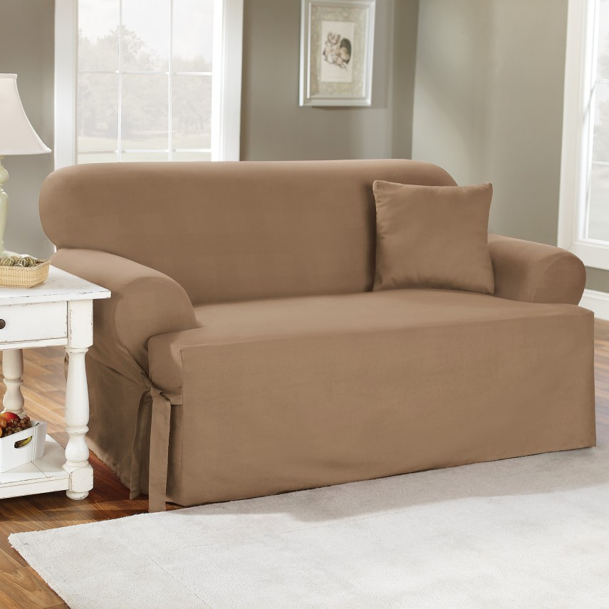 Sectional Slipcovers | Waterproof Couch Protector | Oversized Chair Slipcover