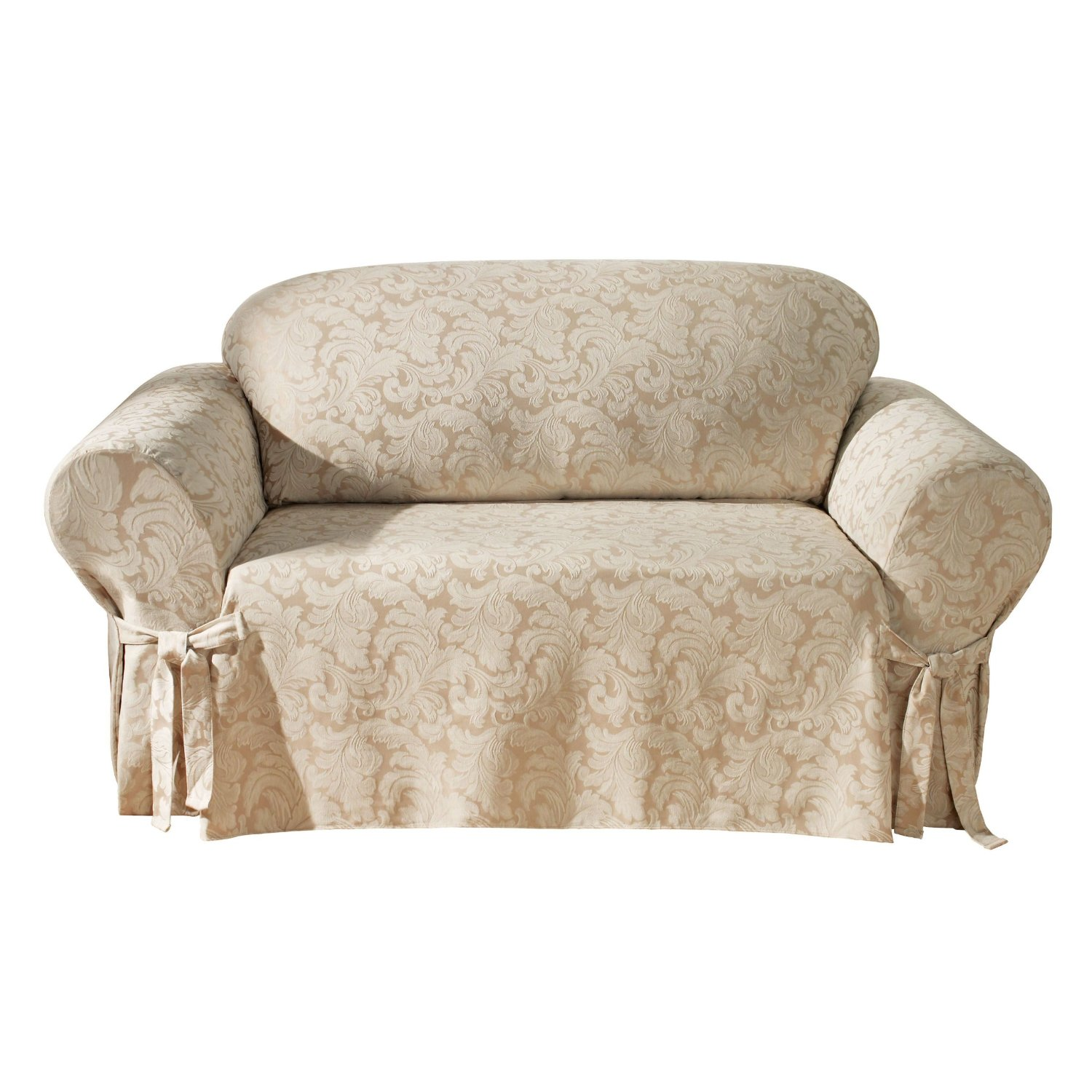 Sofa Slipcovers Large: Furniture: Mesmerizing Oversized Chair Slipcover For Home