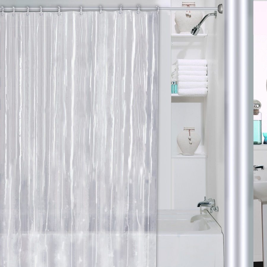 Shower Curtain and Liner | 90 Inch Shower Curtain Liner | Shower Curtain Liner