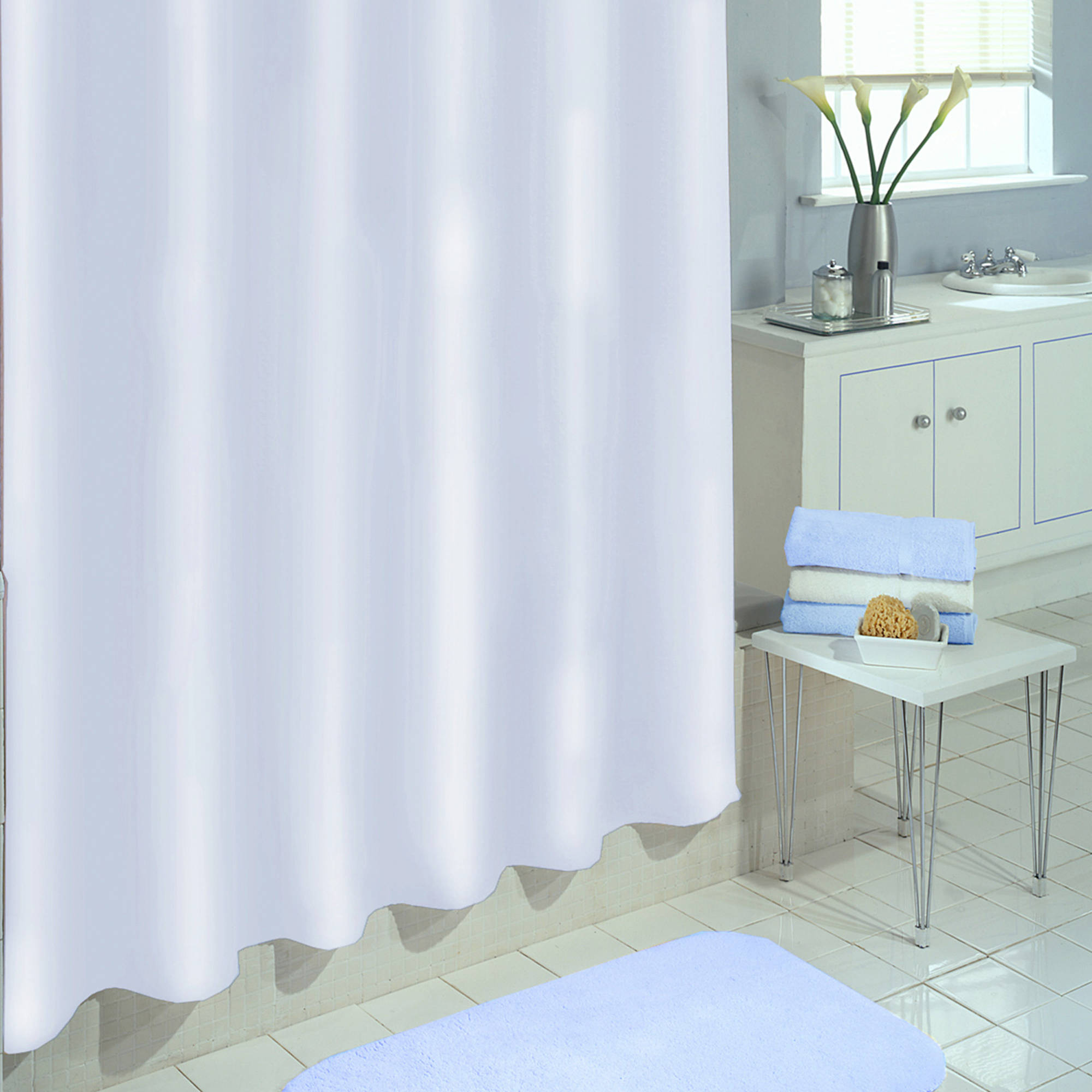 Shower Curtain Liner | Clear Shower Curtain Liner Extra Long | Washable Shower Curtain Liner