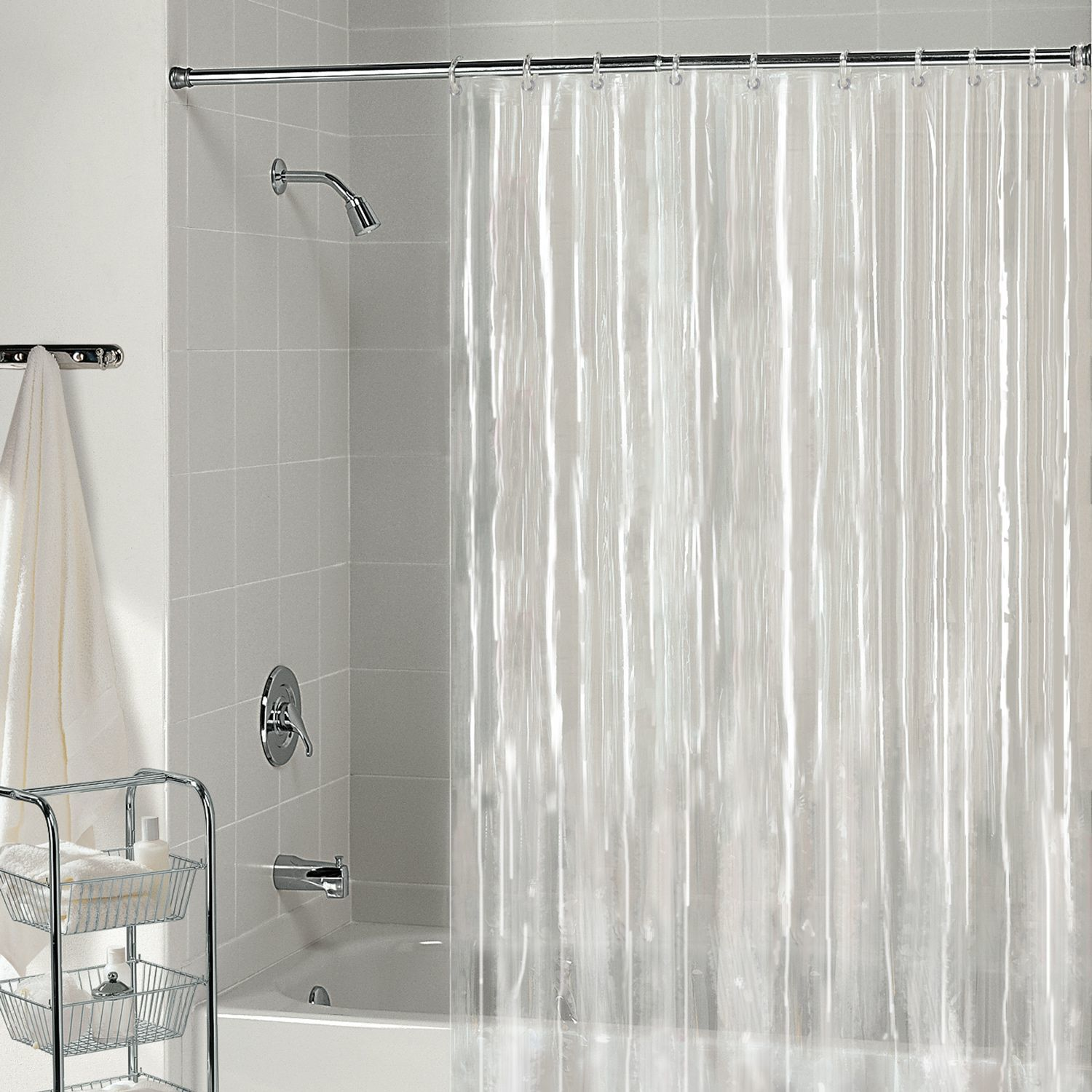 Bathroom Shower Curtain Liner Non Toxic