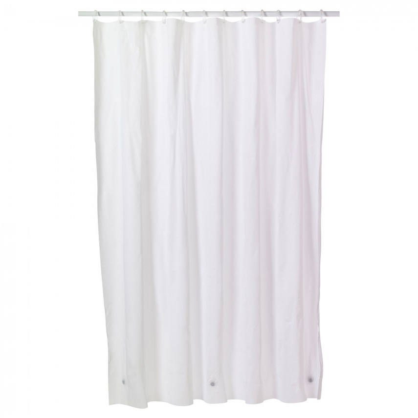 Shower Curtain Liner With Pockets   Shower Curtain Liner   Hookless Shower Curtain With Snap Liner