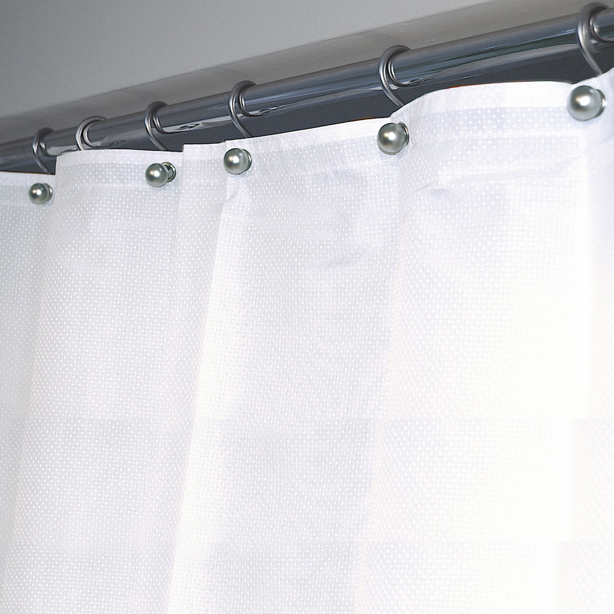 Shower Curtain with Liner | Shower Curtain Liner | Extra Long Shower Curtain Liner Clear