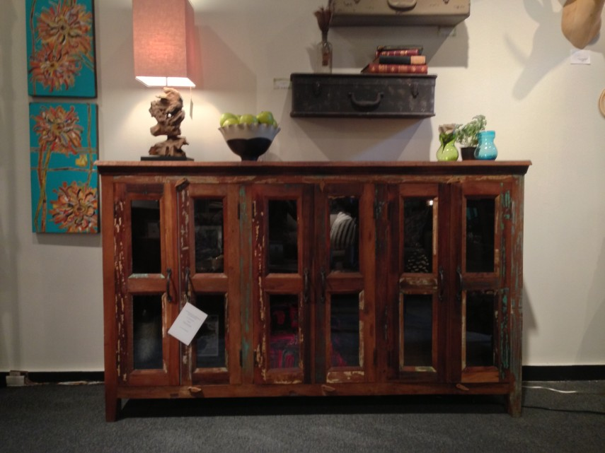 Sideboards And Buffets With Glass Doors | Buffets And Sideboards | Hutch And Buffet