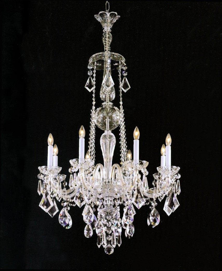 Silver And Crystal Chandeliers | Chandelier Crystals | Crystal Ceiling Fans