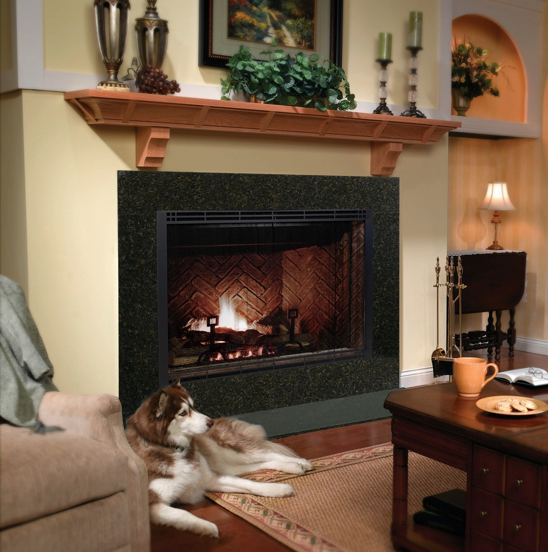 Simple Fmi Fireplaces | Enticing Superior Wood Burning Fireplace