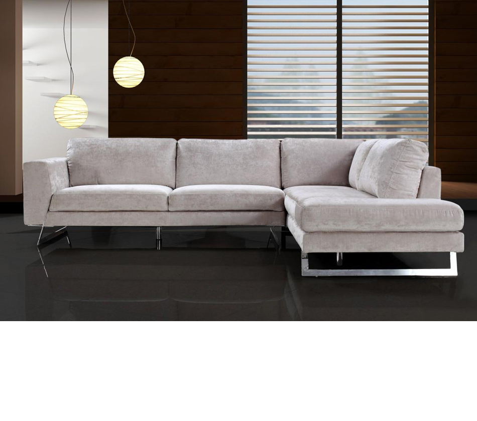 Sleeper Sofa with Chaise | Faux Leather Sofa | Large Sectional Sofas