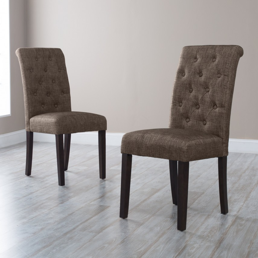 Slipcovers For Dining Chairs | Nailhead Dining Chairs | Tufted Dining Chair