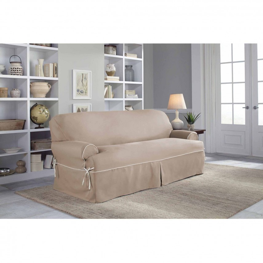 Slipcovers For Sofas With Cushions Separate | Sofa Covers With Separate Cushion Covers | T Cushion Sofa Slipcover
