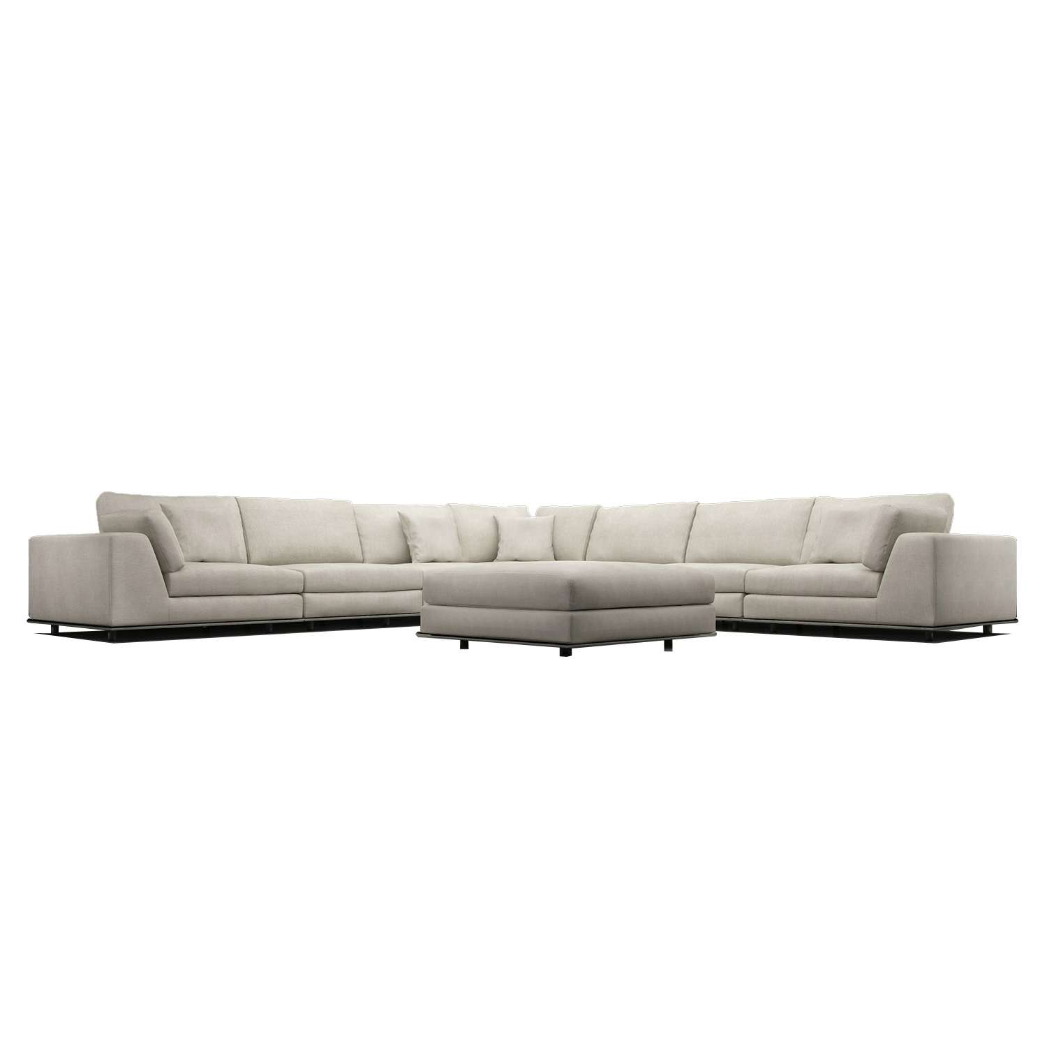 Small Leather Sectional | Large Sectional Sofas | U Shaped Sectional Sofa