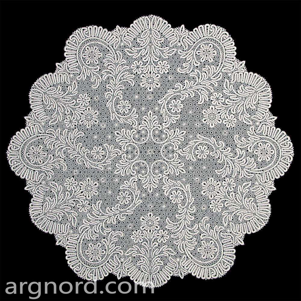 Snowflake Tablecloth | Lace Tablecloths | Cotton Lace Tablecloths