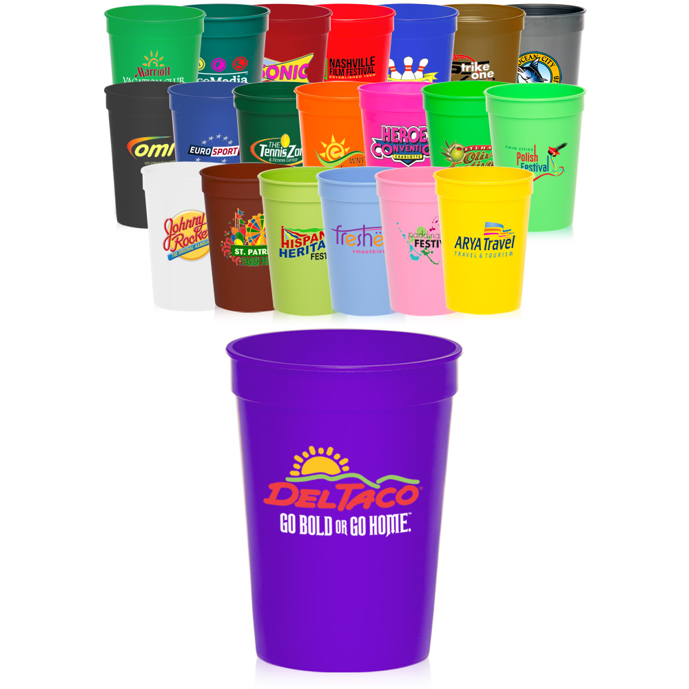 Solo Cups Bulk | Personalized Plastic Cups | Customizable Tumblers