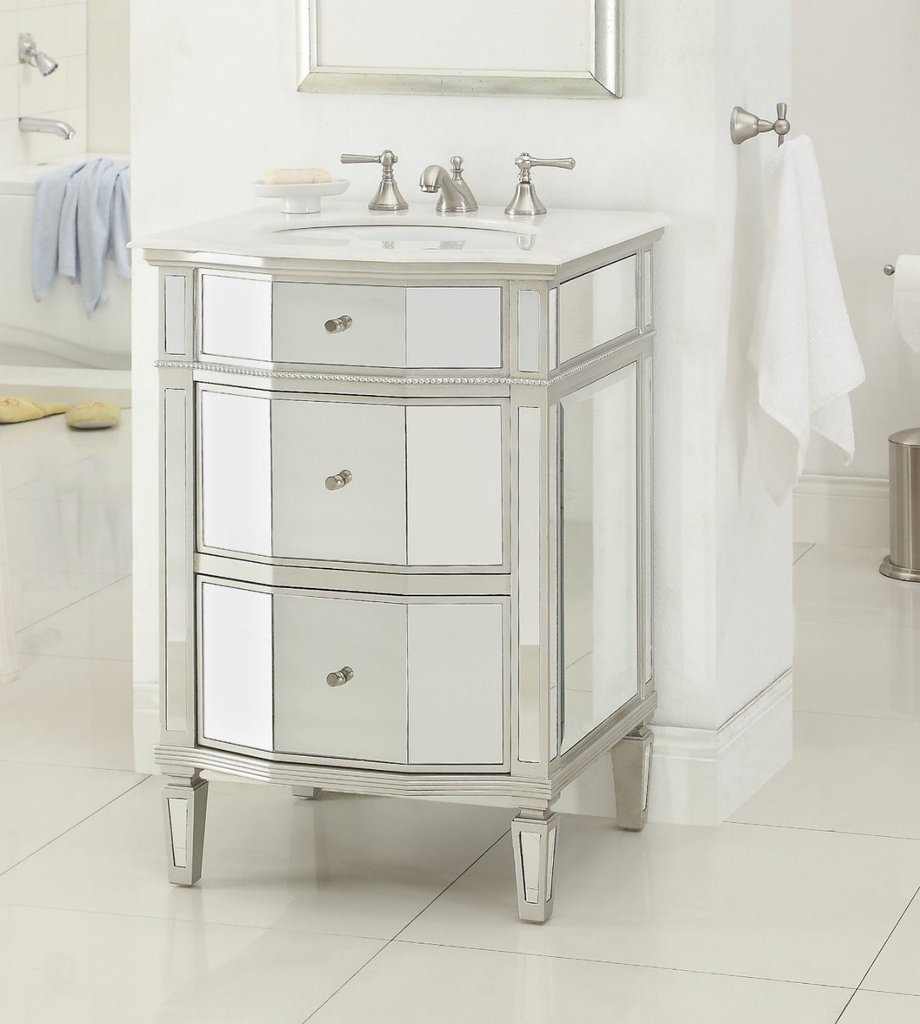 Sophisticated 20 Inch Vanity | Incredible Chans Furniture