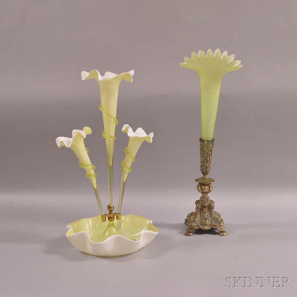 Sophisticated Glass Epergne | Amazing Epergne