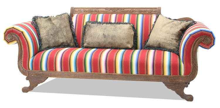 Sophisticated Old Hickory Tannery Leather Sofa   Dazzling Old Hickory Tannery